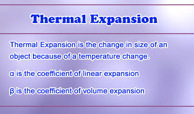 Thermal Expansion - Overview