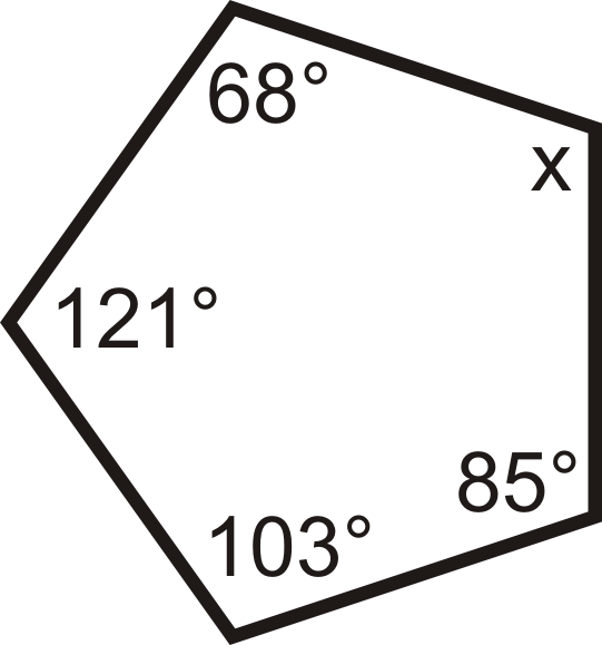 Interior Angles in Convex Polygons | CK-12 Foundation