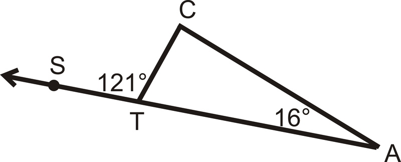 Exterior Angles Theorems Read Geometry Ck 12 Foundation