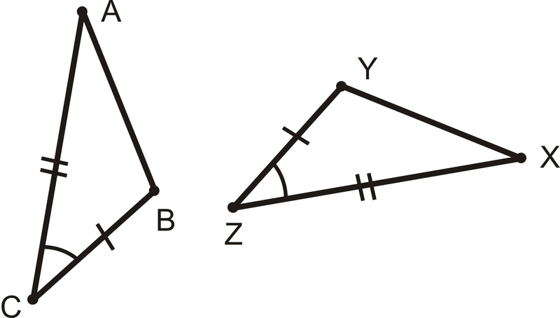 Sas Triangle Congruence Read Geometry Ck 12 Foundation