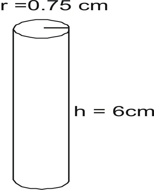 how to find the base area of a cylinder