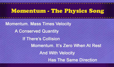 MOMENTUM - The Physics Song