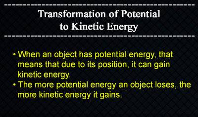 Forms of Energy - Example 4
