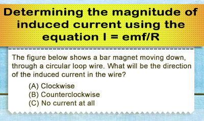 Faraday's Law: Magnitude of Induced Current - Example 3