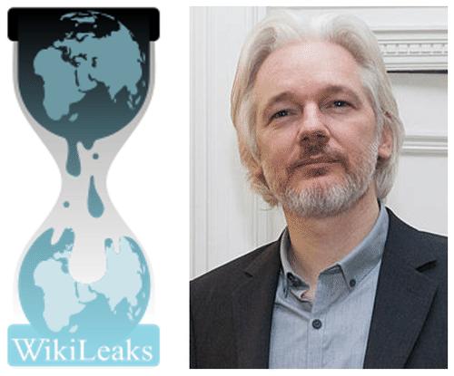 Julian Assange Photograph