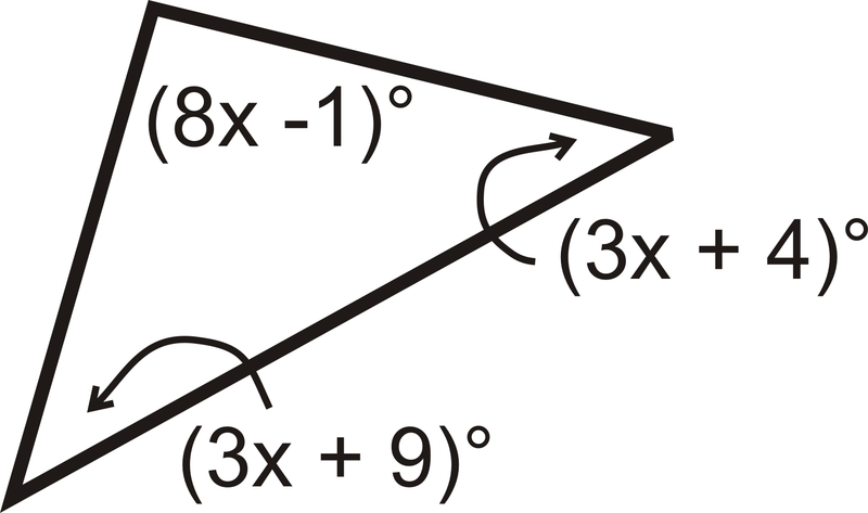 Angle Sum Theorem Worksheet - Delibertad