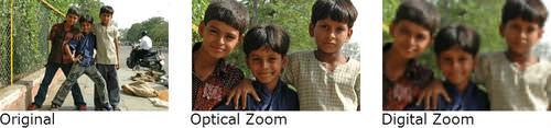 optical zoom vs. digital zoom