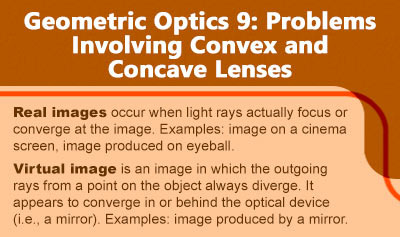 Geometric Optics 9: Problems Involving Convex and Concave Lenses - Overview