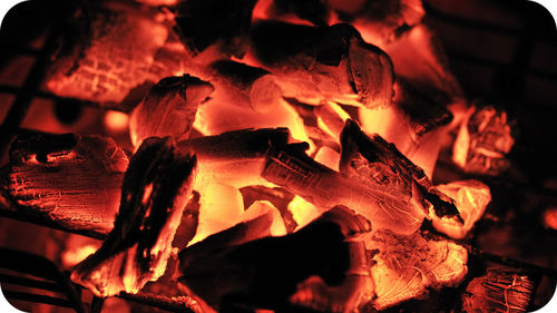 The burning of charcoal is a combustion reaction