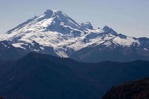 Picture of Mt. Baker in Washington