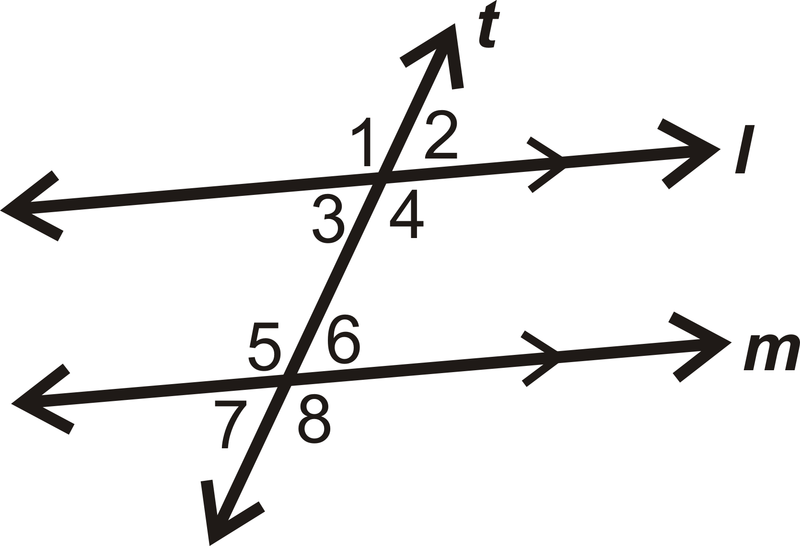 Alternate Exterior Angles ( Read ) | Geometry | CK 12 Foundation