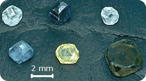 Diamond has a different heat of reaction than graphite because of the different heat of formation