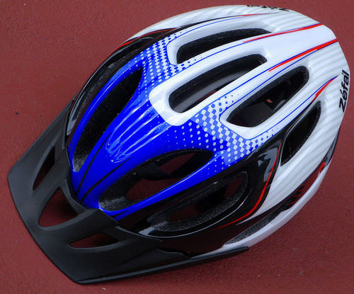 Bicycle helmets help protect against head injuries that can cause lifelong disability