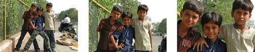 boys posing in Jaipur, Indiua