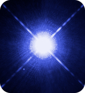Sirius B is an example of a tiny white dwarf