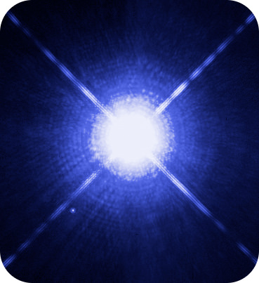 Sirius B is an example of a white dwarf