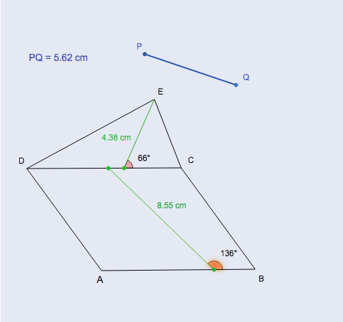 Area of Composite Shapes: Triangle and Parallelogram