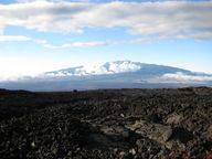 The Mauna Kea volcano in Hawaii is a shield volcano