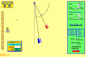 Simple Pendulum Derivation of Expression for its Time Period