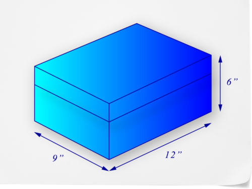 Nets and Total Surface Area of Prisms (B-1, B-2)