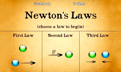 Newton's Third Law of Motion Quiz