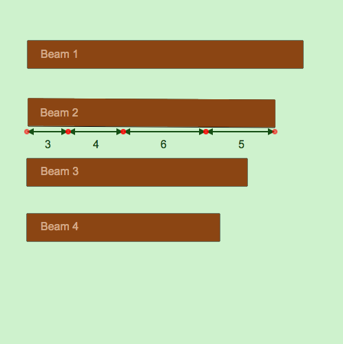 Decimal Addition Using Front-End Estimation: Wooden Beams