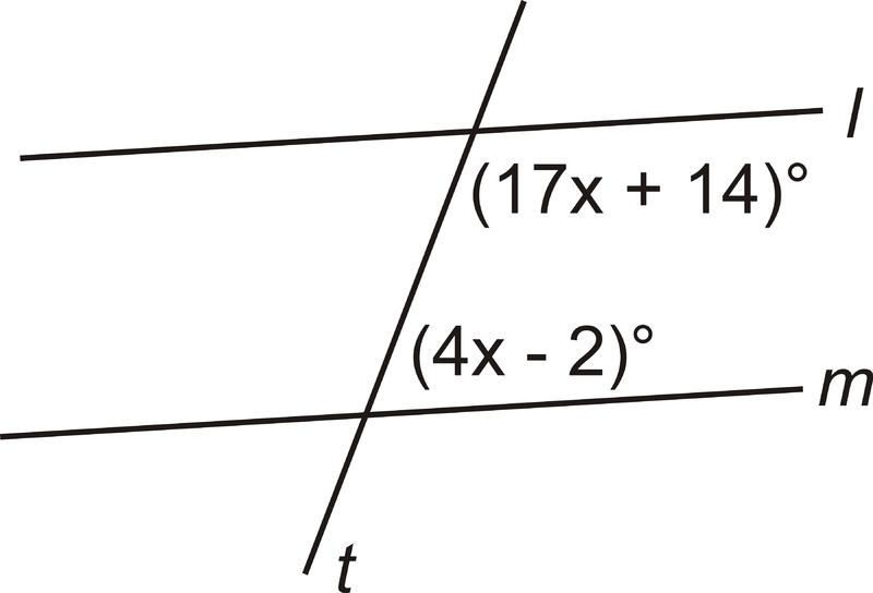 Properties of Parallel Lines – Parallel Lines and Transversals Worksheet