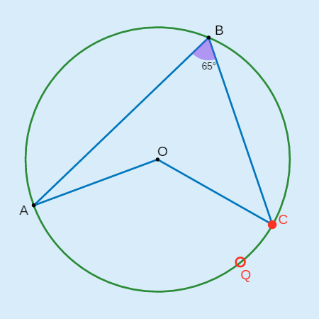 Inscribed Angles in Circles