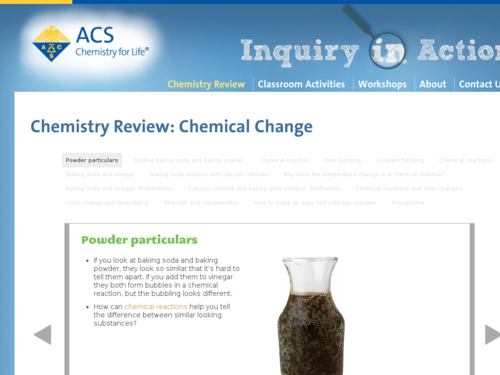 Chemistry Review: Chemical Change