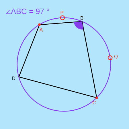 Quadrilateral Inscribed in a Circle