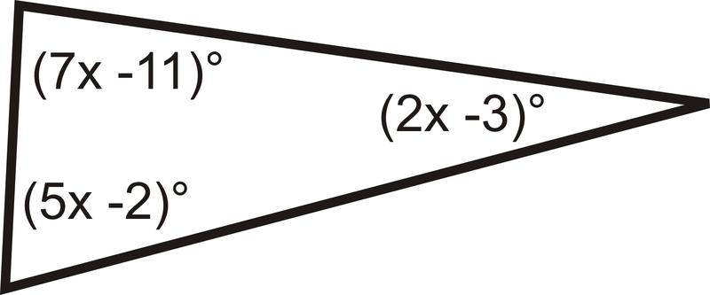 Triangle Sum Theorem | CK-12 Foundation