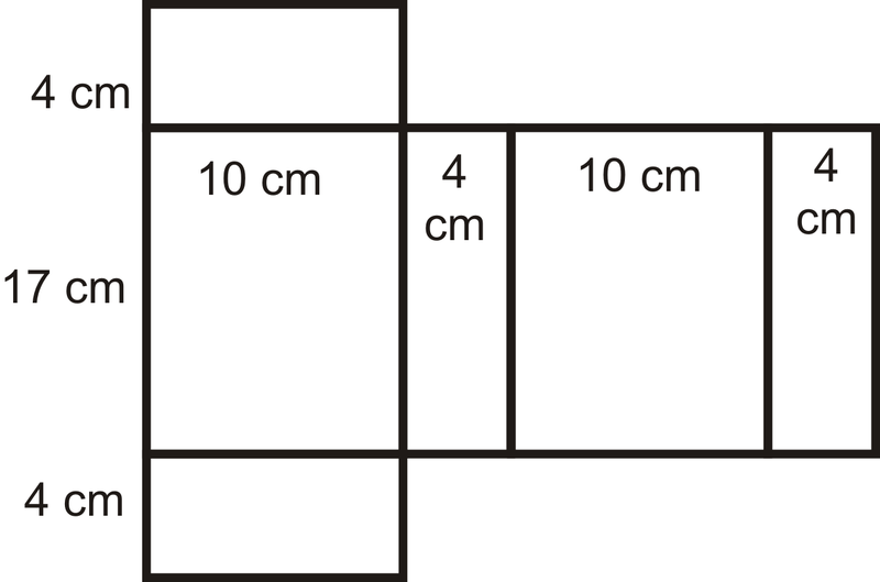 Surface Area of Prisms and Cylinders – Surface Area Nets Worksheet