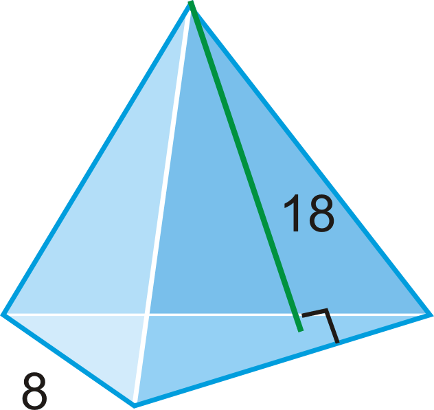 Surface Area and Volume of Pyramids Read Geometry – Surface Area Nets Worksheet