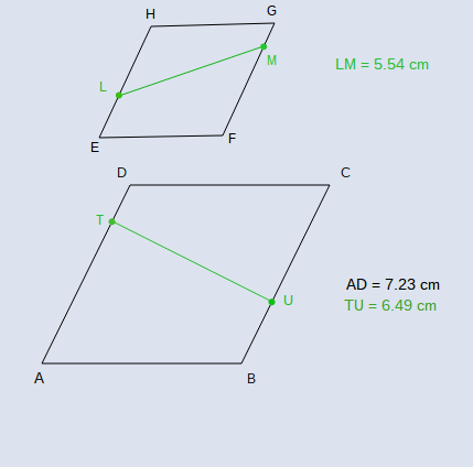 Area and Perimeter of Similar Polygons