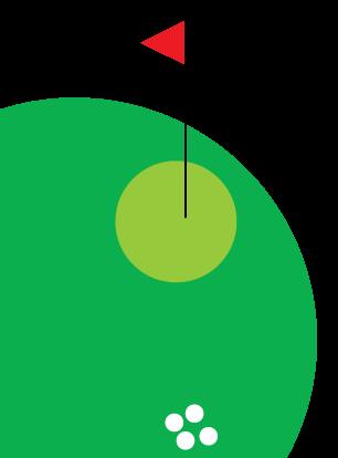 Golf balls demonstrating precision
