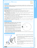 Circular Motion Study Guide