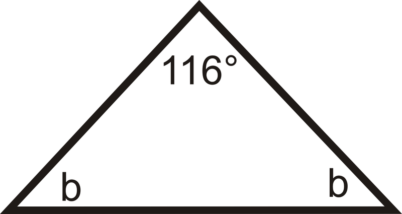 how to read angles on a triangle letter