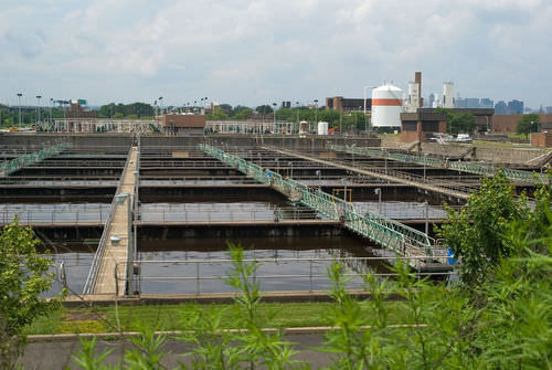 Processing wastewater before dumping it into rivers helps conserve fresh water