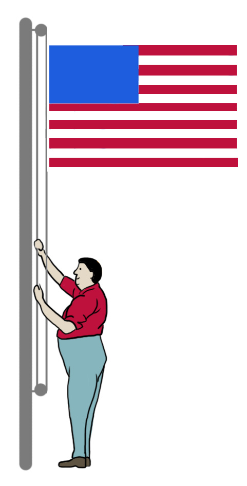 Flagpole Pulley