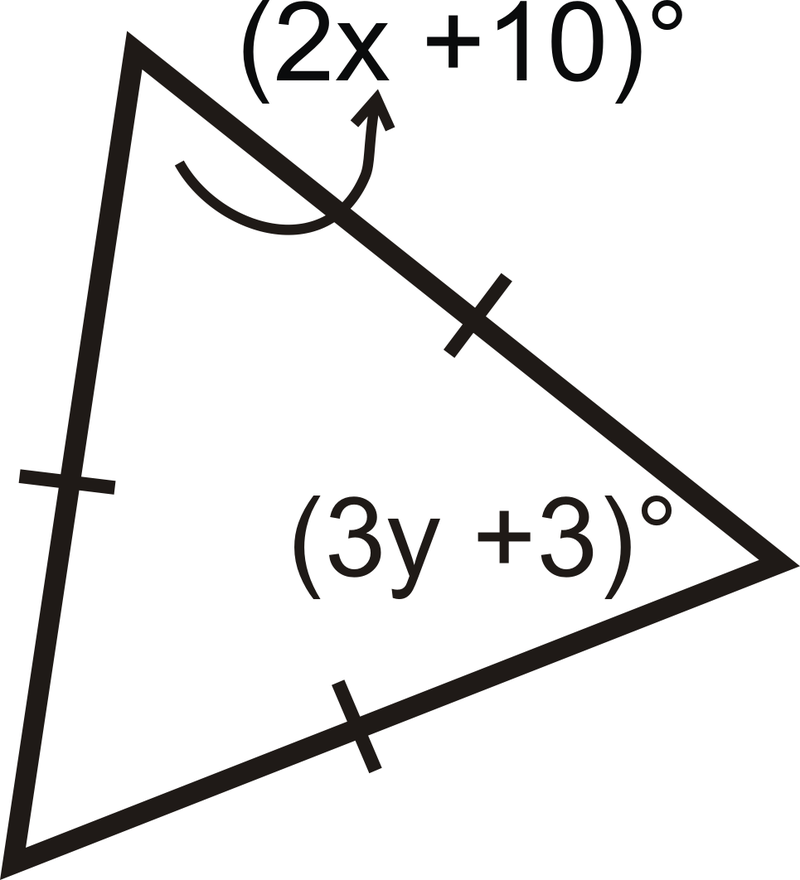 how to draw a triangle with a protractor