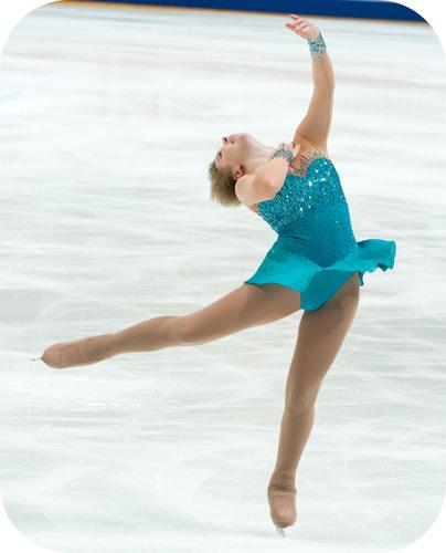 A spinning ice skater conserves angular momentum