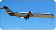 A modern jetliner.