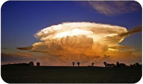 A thunderhead is a cumulonimbus cloud