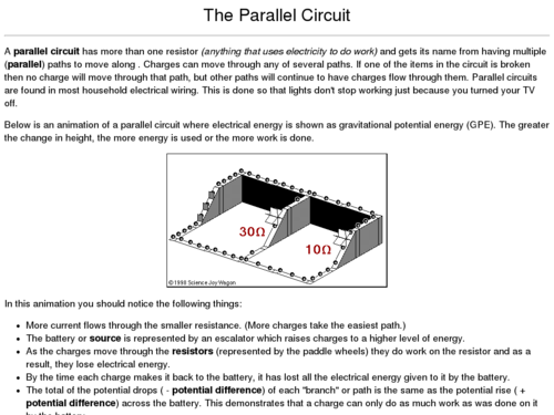 The Parallel Circuit