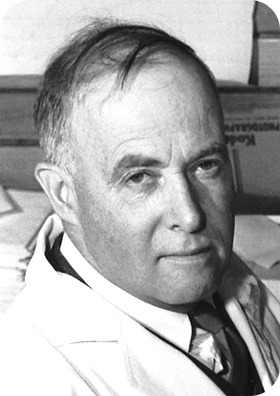 Photograph of James Sumner, who discovered the first enzyme
