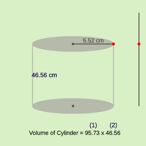 Volume of Cylinder: Big Can of Soup