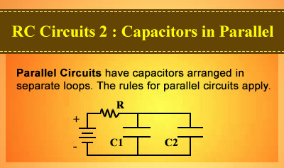 RC Circuits 2: Capacitors in Parallel - Overview