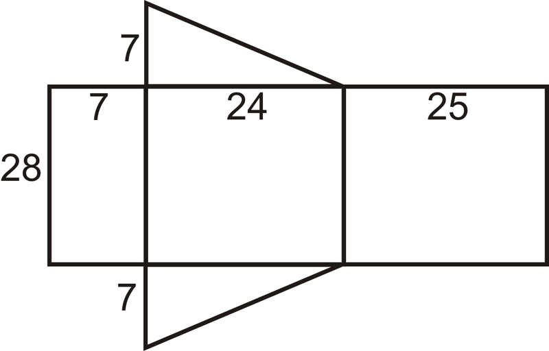 how to solve the area of a triangular prism