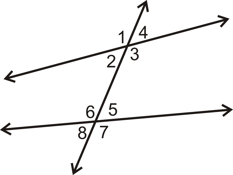 Properties Of Parallel Lines Ck 12 Foundation