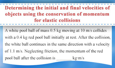 Conservation of Linear Momentum - Example 4